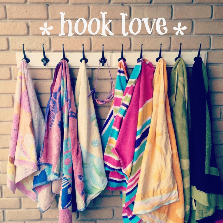 Beach Towel Hook Solution Love This For Near The Pool