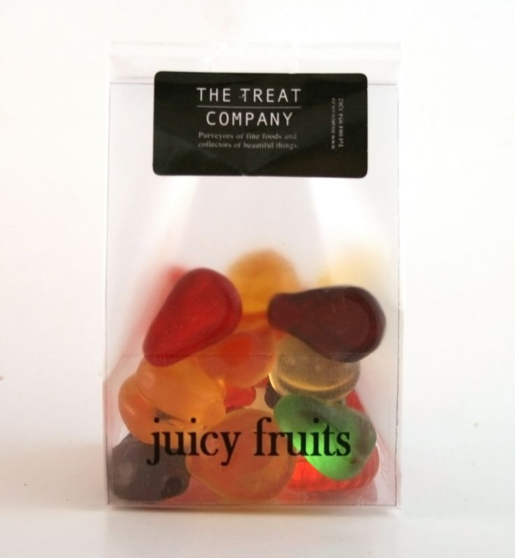 Juicy Fruits frosted & insert 60g