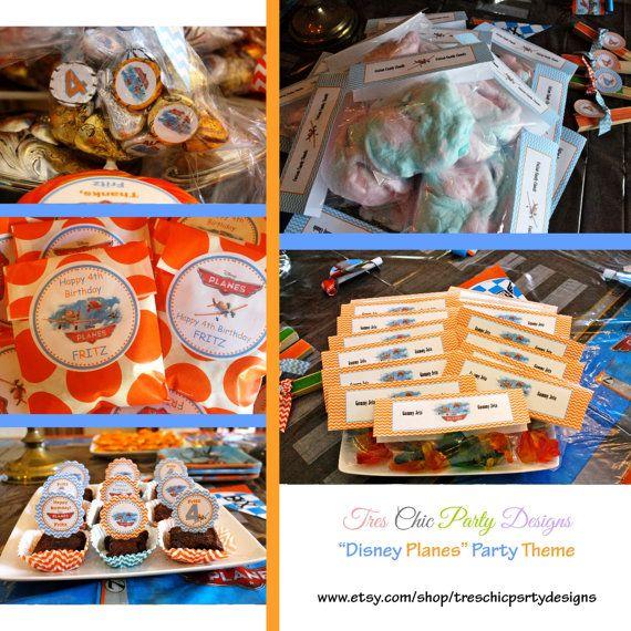 Disney Planes birthday decorations disney by TresChicPartyDesigns, $195.00