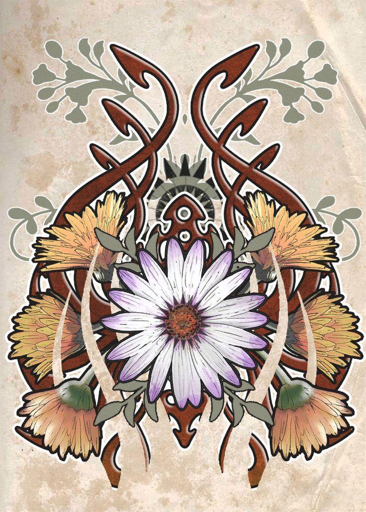 Best 25 Nouveau Tattoo Ideas On Pinterest Art Nouveau