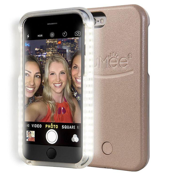 LED Light Up Selfie Case For iPhone 5 5s SE 6 6s plus