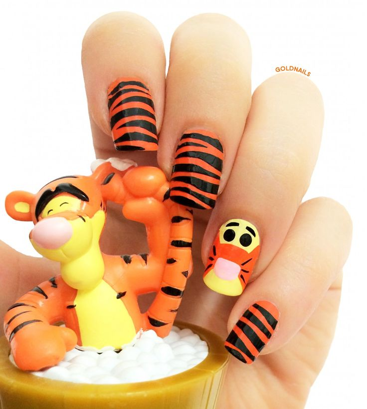 Tigger Nails: 264 Best Images About GOLDNAILS