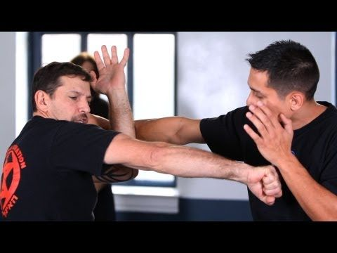 How to Defend against a Knife to Throat | Krav Maga Defense - YouTube