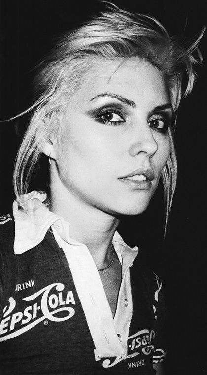 Debbie Harry has always been one of my more bold beauty inspirations. There's definitely a little rocker in me.
