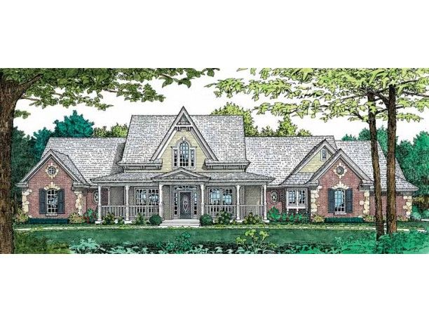 Eplans gothic revival house plan traditional country for Www eplans com house plans