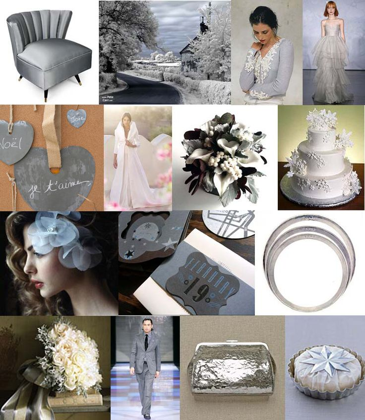 #27 Icy CoolWedding Inspiration, Boards Silver, Grey Inspiration, Wedding Blue, Inspiration Boards, Silver Accent, Boards 27, Blue Grey, Colors Inspiration