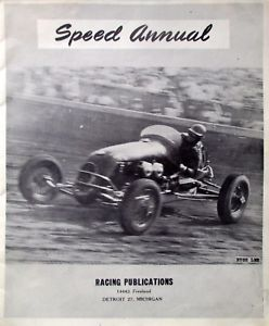 Racing Speed Annual Midget Stock Car Big Car Nascar Hot-Rods Pictures Stats 1949