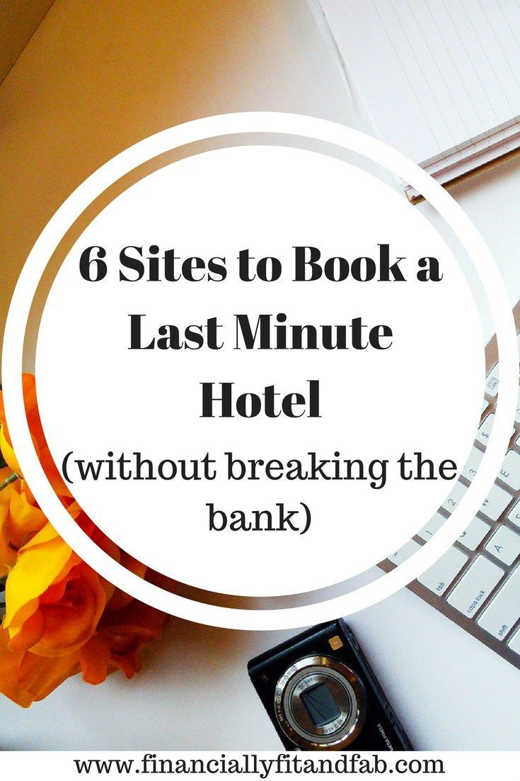 Looking for a last minute hotel but not sure where to start? Check these sites first for all your travel hacking needs.