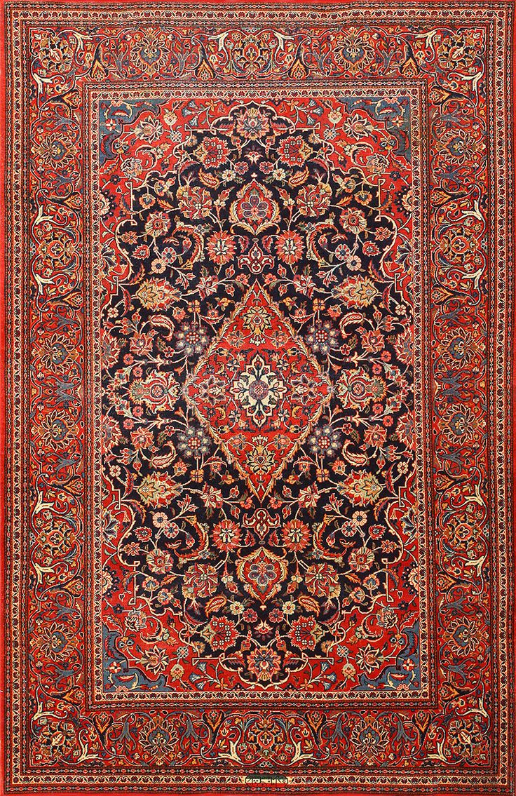 36 Best Images About Antique Kashan Rugs On Pinterest