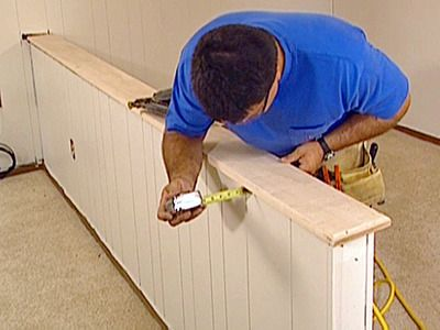 half wall ideas for kitchen how to install a half wall top how - Pony Wall