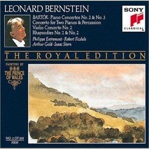 Bartók: Piano Concertos No. 2 & No. 3 / Concerto for Two Pianos & Percussion / Violin Concerto No. 2 / Rhapsodies No. 1 & No. 2 - Bernstein