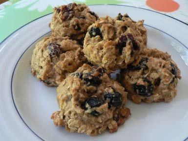 These Delicious Low-Fat Cookies Come Together in One-Bowl!: Breakfast Cookies
