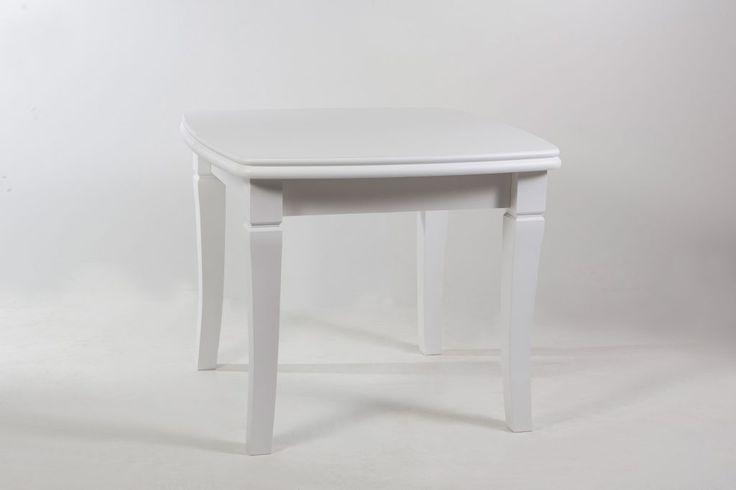Купить стол обеденный увеличивающийся до 3м в длину, квадратный (4 вставки) от производителя в белом цвете, можно как оптом, так и в розницу. Небольшой квадратный стол украсит любую кухню, особенно, если при необходимости он изменяет ширину своей столешницы. Это довольно выгодное приобретение, ведь 4 вставки при трансформации позволяют максимально увеличить обеденное место.