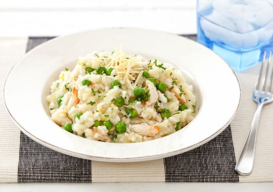 Pea and Crab Risotto