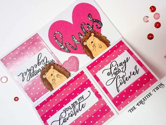 The Creative Twins Be Mine Popup Box Card Card Box Cards Monthly Crafts