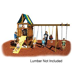 Alpine Custom Ready-to-Build Swing Set Kit | Overstock.com Shopping - Big Discounts on Swing-N-Slide Swing Sets
