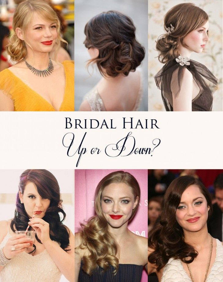 58 best wedding hairdos images on pinterest make up, braids Wedding Hairstyles Up Or Down bridal hair inspirations up or down wedding hairstyles up or down