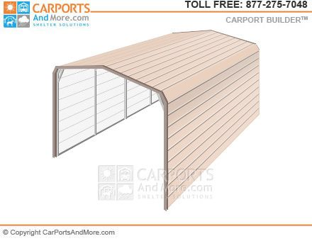 Metal Carport and Garage Kit Builder