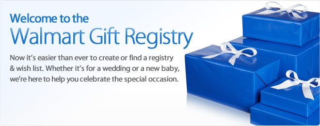 Walmart Wedding Gift Registry. Wedding Gifts. Wedding Ideas And ...