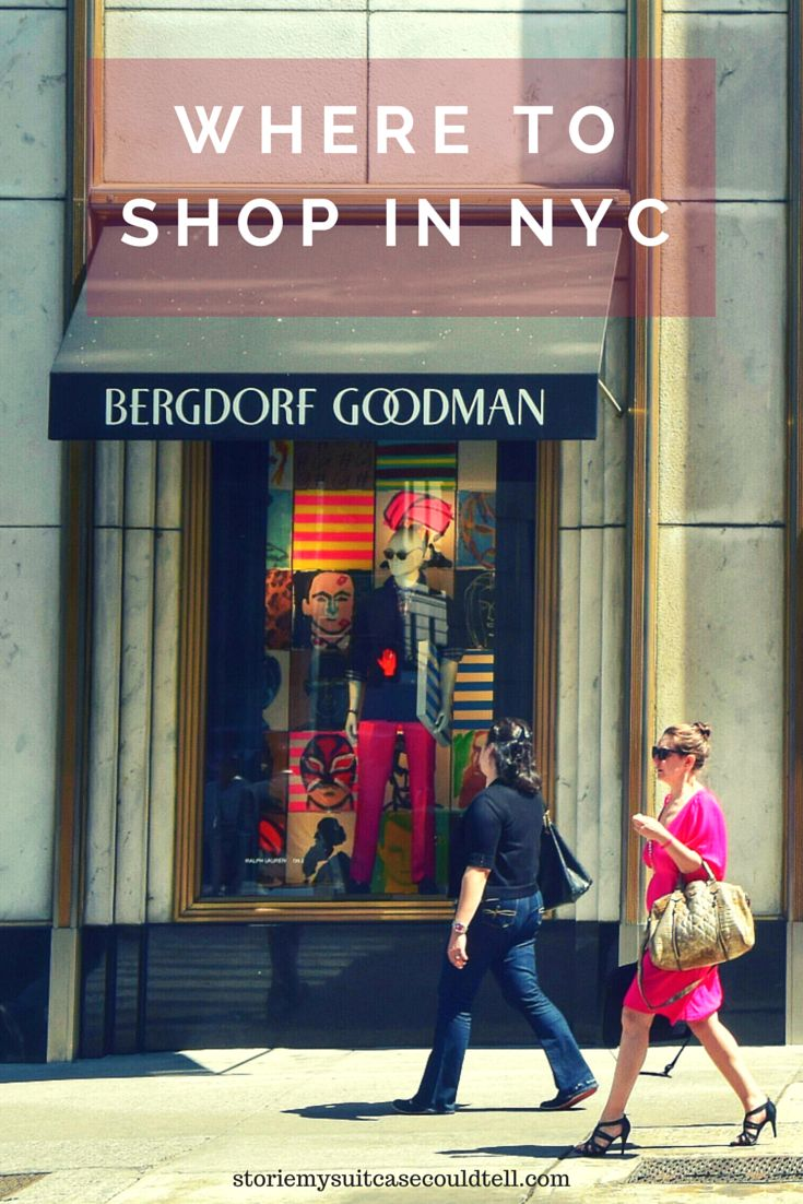 From the designers of Fifth Avenue to the boutiques in Williamsburg, Brooklyn, there's something to suit every shopping style in NYC. Over on the blog there are tourist tips for five of the most stylish shopping spots in the city! // Stories My Suitcase Could Tell