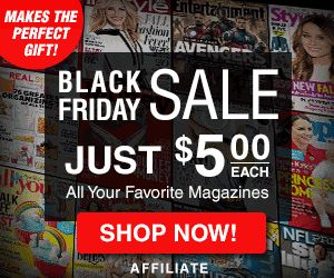 Get a subscription to All You Magazine for just $5. You can also get People, Real Simple, Cooking Light, InStyle, Sports Illustrated and all the other magazines listed below for just $5.