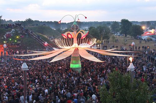 Fusion Festival in Germany