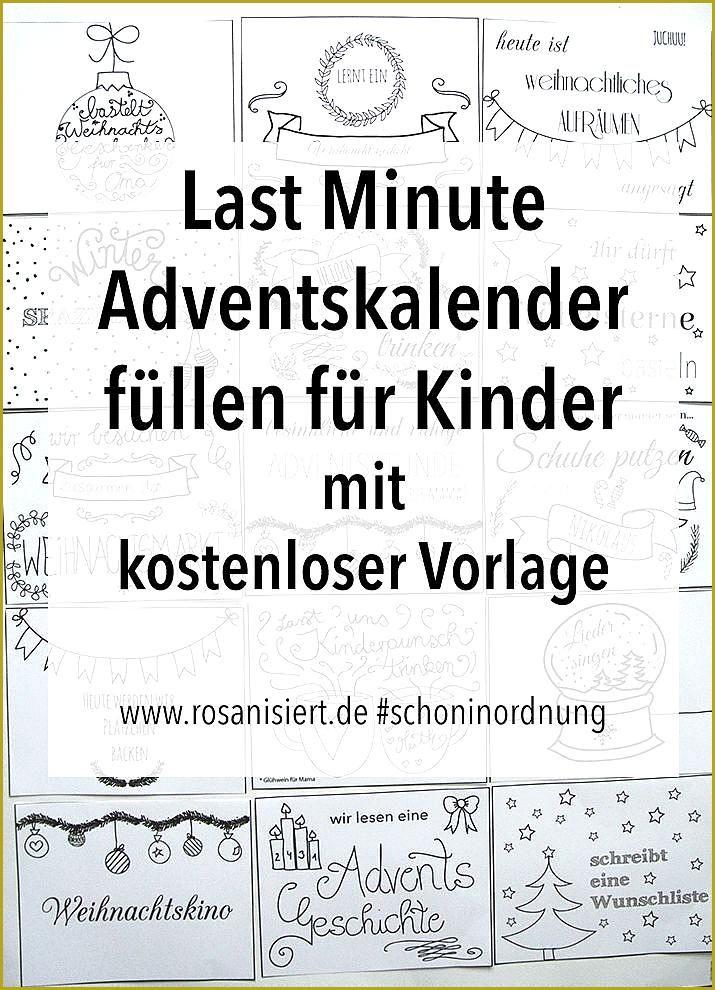 Last Minute Adventskalender Fur Kinder Zeit Statt Zeug Adventskalender Fur Kinder Fullen Mit Gu Adventkalender Zeit Statt Zeug Adventskalender