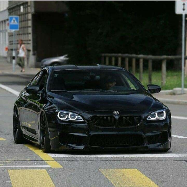 Bmw F13 M6 Black With Images Tuning Verdak Autok