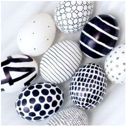 28 Easter Egg Design Decorations Ideas