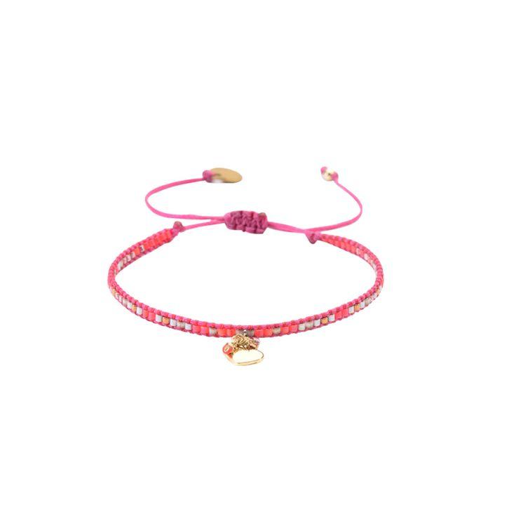 Rosa Armband Med Parlor, Hjart Berlocker Row Heart Be Xs 3184 - Mishky - Brazilian Bikini Shop #brazilianbikinishop #BBSFashion #rosaarmbandmedparlor,hjartberlocker #mishky