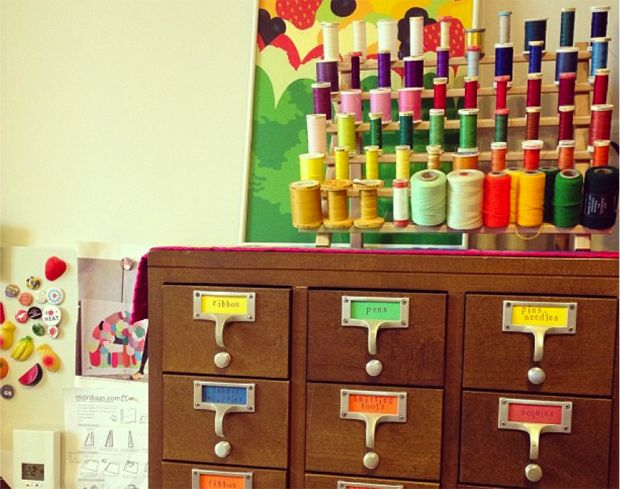 10 Fun Uses for Old Card Catalogs | Mental Floss - I actually have two card catalogs from the Royal Oak Public Library - love these ideas