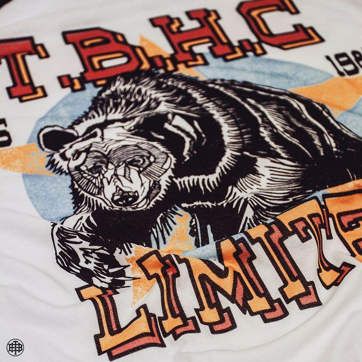 Details - The Bear Crawl Tee - Orignal artwork by Luke Dixon