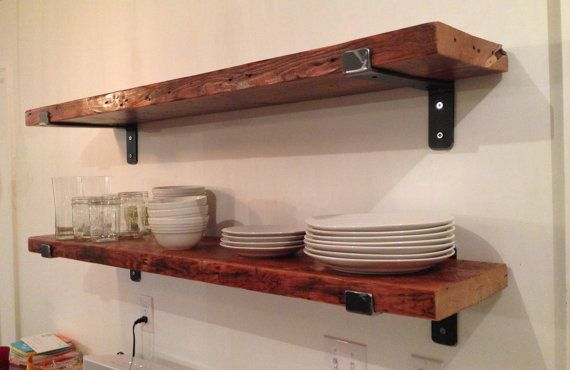 17 Best Ideas About Reclaimed Wood Shelves On Pinterest