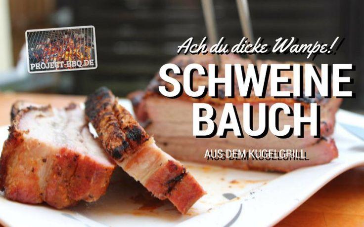 Ein köstlicher Schweinebauch - fachgerecht pariert und im Ganzen zubereitet - ist eines der besten Stücke Fleisch für den Grill. Hier liest du, wie es geht!