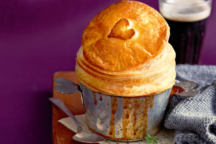 Beef & guinness pies #stpatricksday http://www.taste.com.au/recipes/27296/beef+guinness+pies