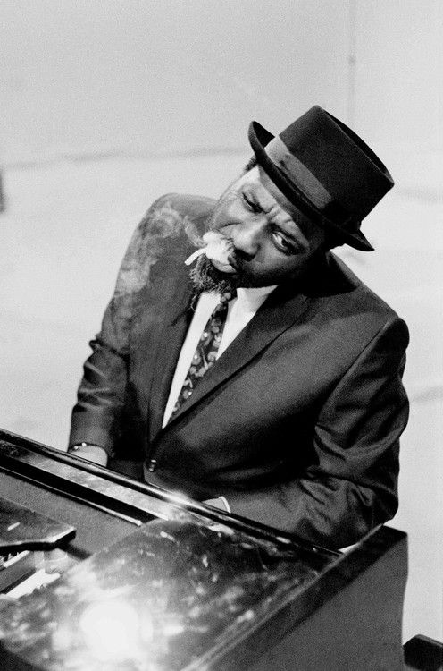 """""""I guess, you know, if I didn't make it with the piano, I guess I would've been the biggest bum.""""  - Thelonious Monk"""