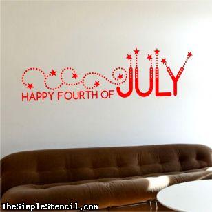 4th of july wall art