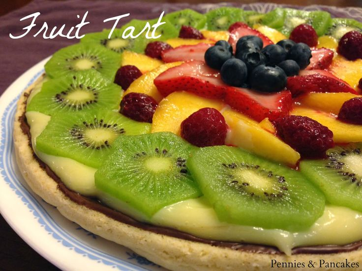 The Roof Restaurant in Salt Lake City's Fruit Tart recipe. And it is DIVINE!