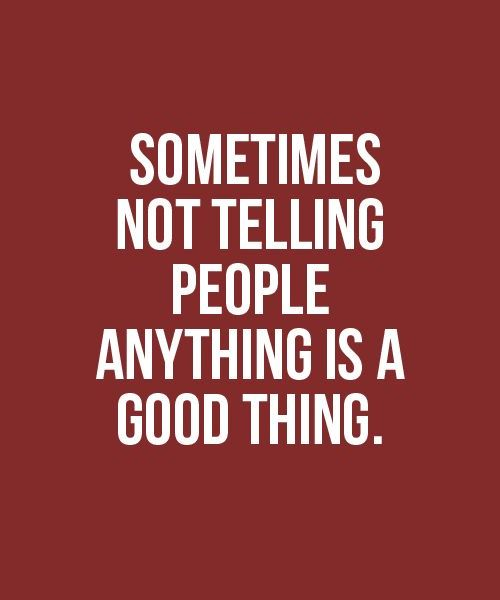 Yes it is!! Taking my families advice & just allowing your actions to do the talking while I remain silent. I don't have to say anything to you it's already been said or noticed! I don't need to call you out on it or bash you in front of anyone. Your the one who can't face me for a talk!
