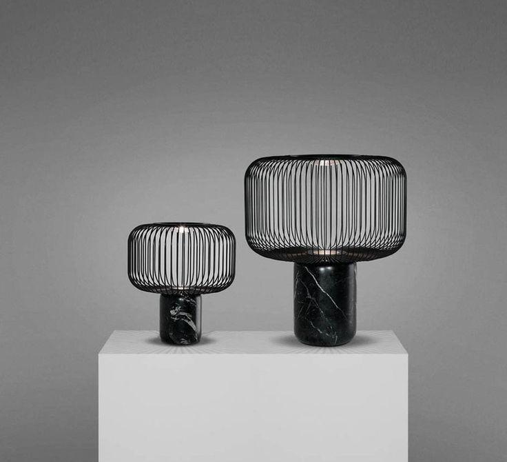 Lampe à poser, Keshi, noir, H35cm - B-LUX - Nedgis