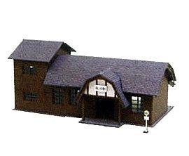 Miniatuart Kit Nostalgic Diorama Series 1/150 Station Building D (MP03-31)(Back-order)(みにちゅあーとキット なつかしのジオラマシリーズ 1/150 駅舎D〔MP03-31〕)