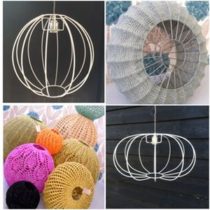 147 best images on pinterest lamp shades inspired by the amazing crochet lampshades from the south african moonbasket lighting weve developed greentooth Image collections