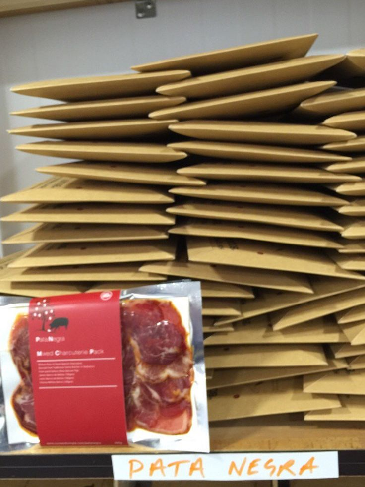 Spanish heaven by post! Cureandsimple.com/signup #PataNegra