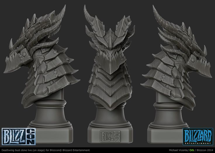 ArtStation - DeathWing Bust, Michael vicente - Orb