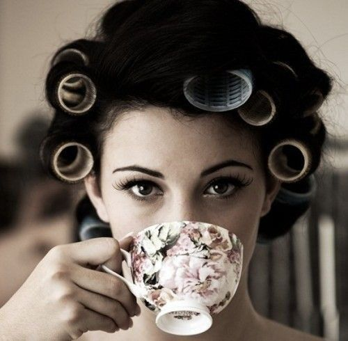Beauty techniques from all over the worldHair Rollers, Teas Time, Teas Cups, Cups Of Teas, Mornings Coffe, Drinks Teas, Beautiful Tips, Teacups, Pampered Parties