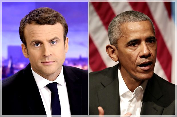 Barack Obama endorses Emmanuel Macron — but don't kid yourself, the French ex-banker is no progressive