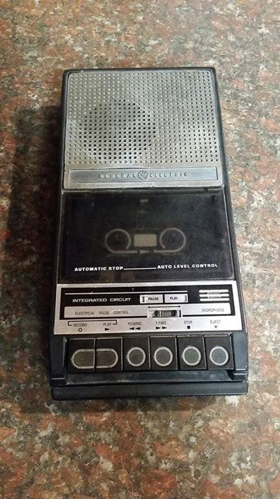 "Tape Recorder - this was how you ""downloaded"" a song in 80s!"