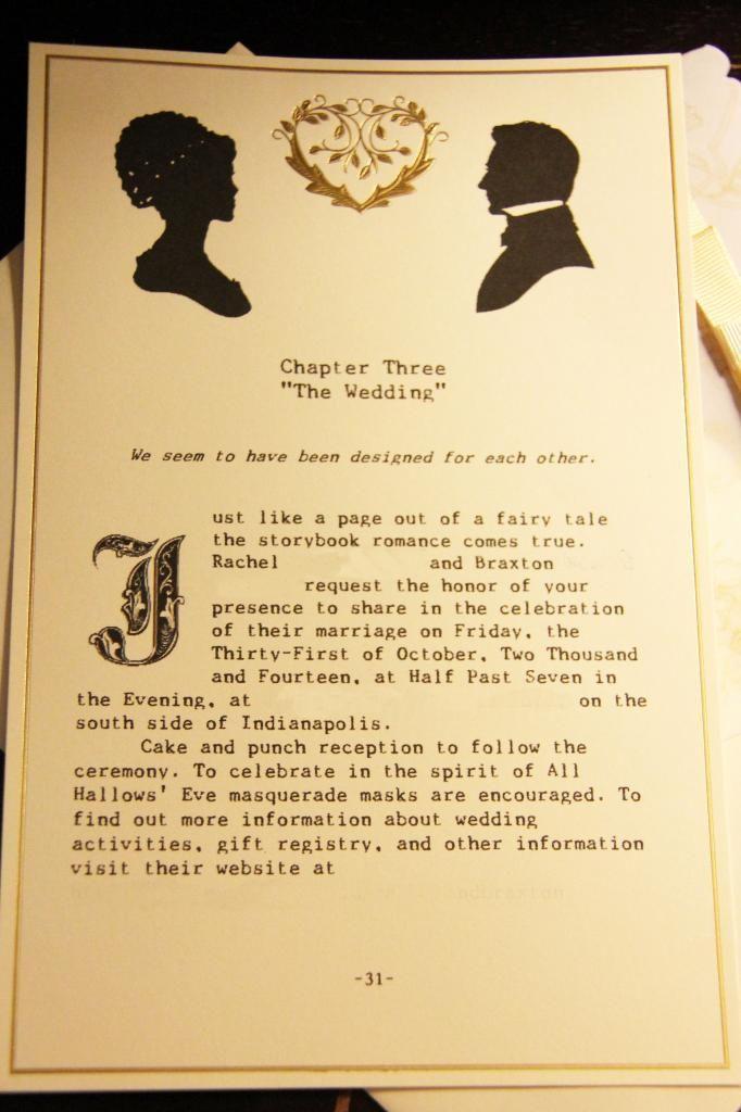 best 25+ book theme wedding invitations ideas on pinterest, Wedding invitations