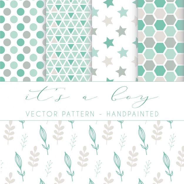 Wednesday's Guest Freebies ~ Freepik ✿ Follow the Free Digital Scrapbook board for daily freebies: https://www.pinterest.com/sherylcsjohnson/free-digital-scrapbook/ ✿ Visit GrannyEnchanted.Com for thousands of digital scrapbook freebies. ✿  Hand painted pattern design Free Vector