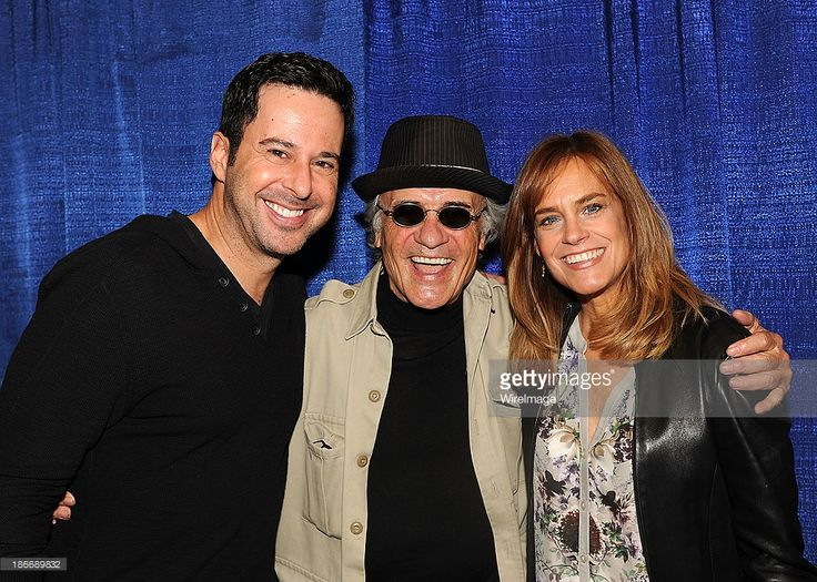 Jonathan Silverman,Terry Kiser and Catherine Mary Stewart of 'Weekend at Bernie's' attends the 2013 Rhode Island Comic Con at Rhode Island Convention Center on November 2, 2013 in Providence, Rhode Island.